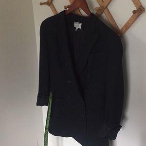 VINTAGE Boyfriend Tuxedo Blazer Jacket KENAR 10